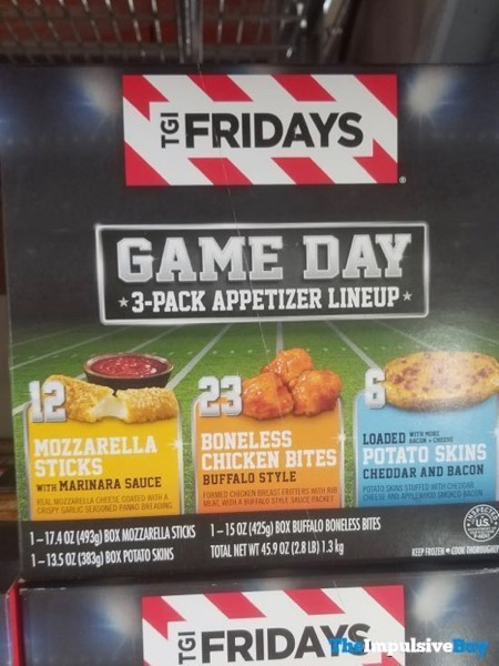 TGI Fridays Game Day 3 Pack Appetizer Lineup