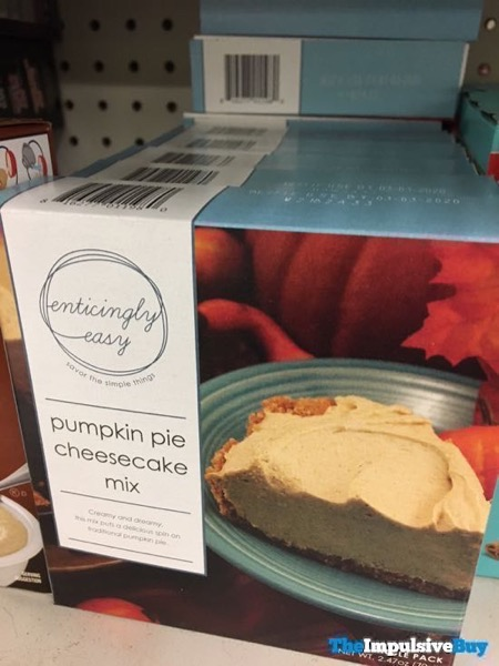 Enticingly Easy Pumpkin Pie Cheesecake Mix