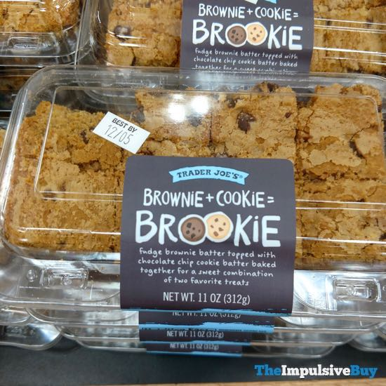 Trader Joe's Brownie + Cookie = Brookie
