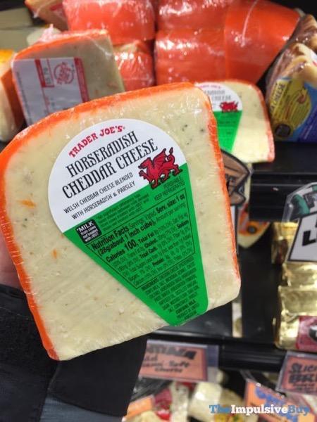Trader Joe's Horseradish Cheddar Cheese