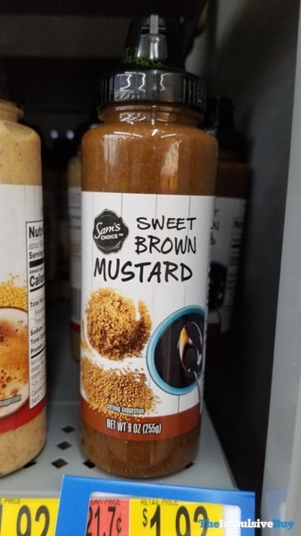 Sam s Choice Sweet Brown Mustard