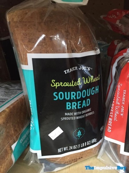 Trader Joe s Sprouted Wheat Sourdough Bread