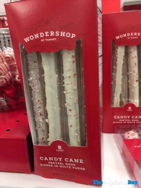 Wondershop at Target Candy Cane Pretzel Rods
