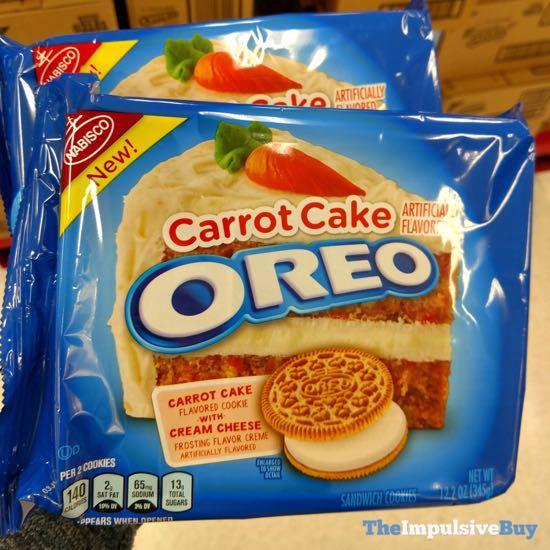 Carrot Cake Oreo Cookies