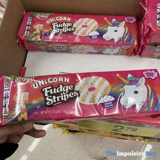 Keebler Unicorn Fudge Stripes