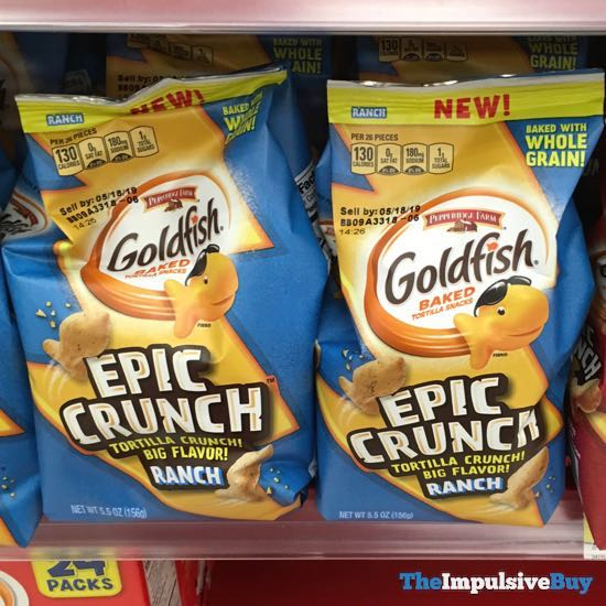 Pepperidge Farm Goldfish Epic Crunch Ranch