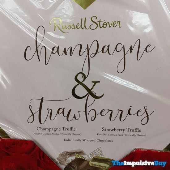 Russell Stover Champagne  Strawberries Truffles