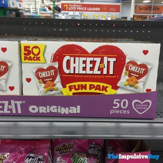 Cheez it Valentines Fun Pak
