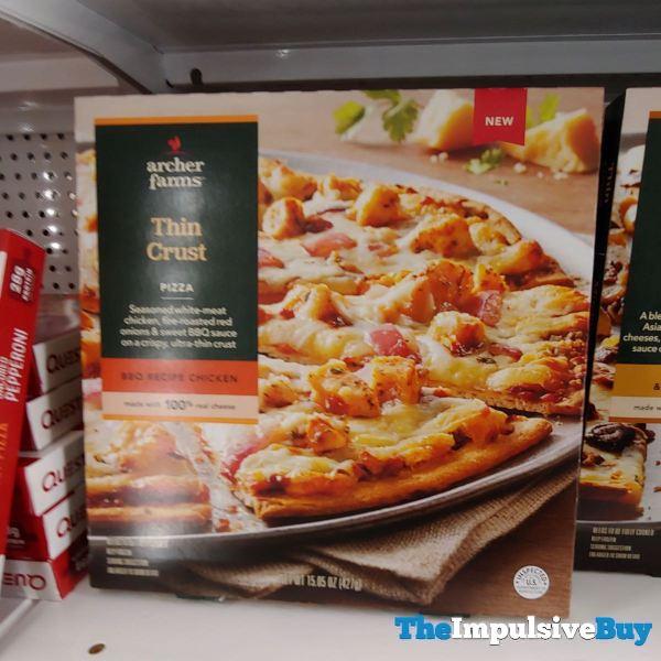 Archer Farms BBQ Recipe Chicken Thin Crust Pizza