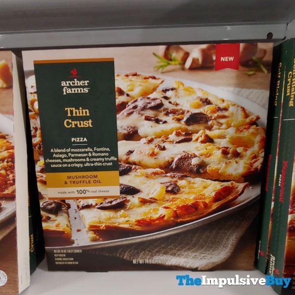Archer Farms Mushroom  Truffle Oil Thin Crust Pizza
