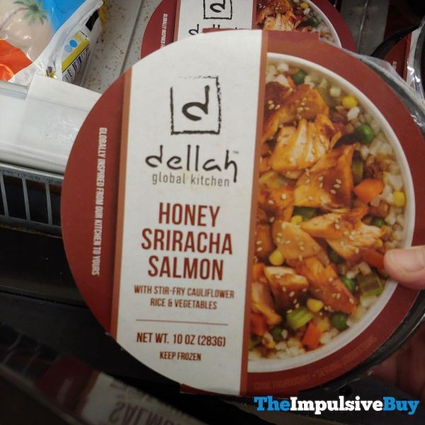 Dellah Global Kitchen Honey Sriracha Salmon