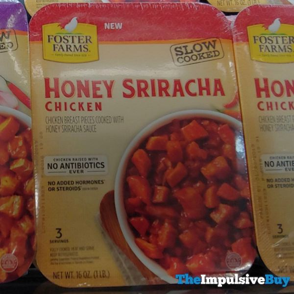 Foster Farms Slow Cooked Honey Sriracha Chicken