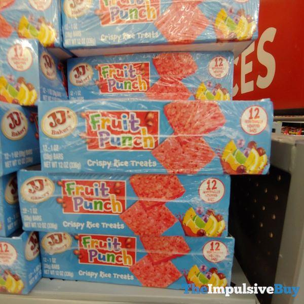 JJ s Bakery Fruit Punch Crispy Rice Treats