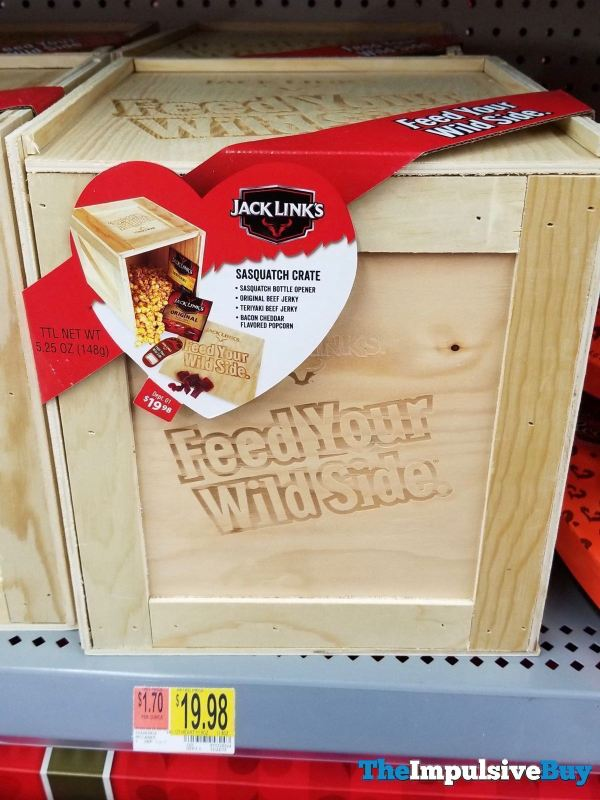 Jack Links Sasquatch Crate
