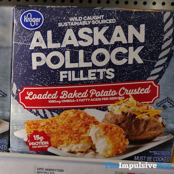 Kroger Loaded Baked Potato Crusted Alaskan Pollock Fillets
