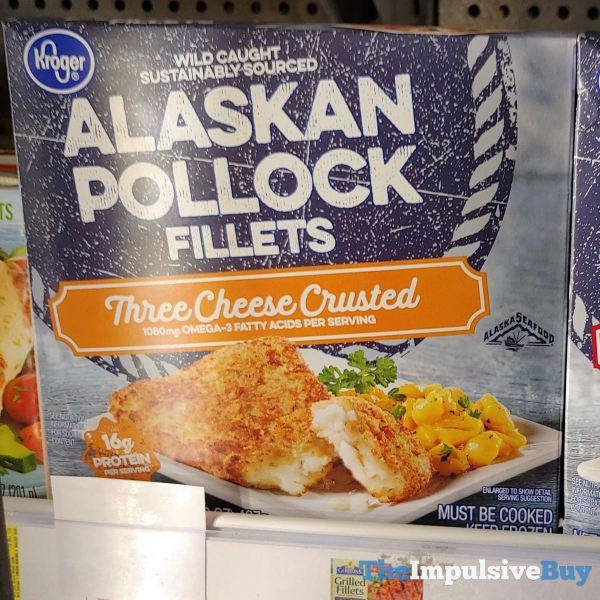 Kroger Three Cheese Crusted Alaskan Pollock Fillets