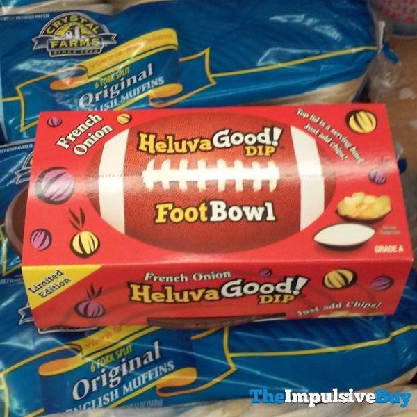 Limited Edition Heluva Good French Onion Dip Foot Bowl