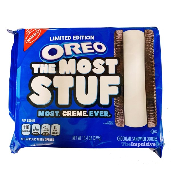 Limited Edition Oreo The Most Stuf