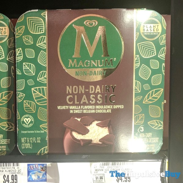 Magnum Non Dairy Classic Frozen Dessert Bars