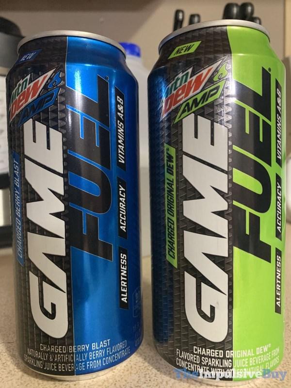 Mtn Dew Amp Game Fuel Original Dew