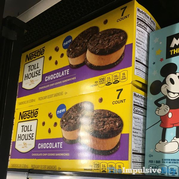 Nestle Toll House Chocolate Chocolate Chip Cookie Sandwiches