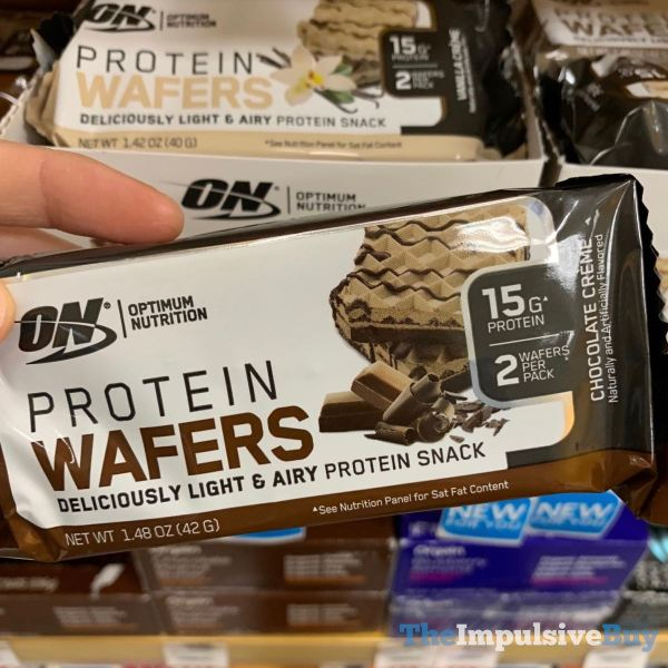 Optimum Nutrition Chocolate Creme Protein Wafers