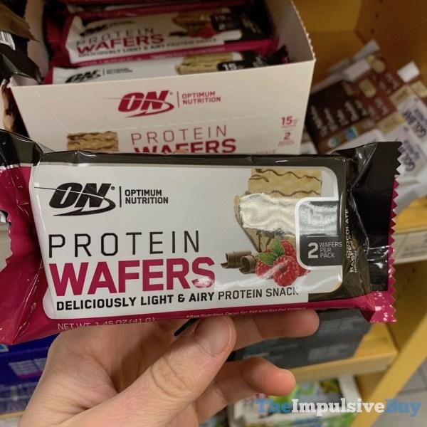 Optimum Nutrition Chocolate Raspberry Creme Protein Wafers