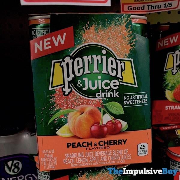Perrier  Juice Drink Peach  Cherry