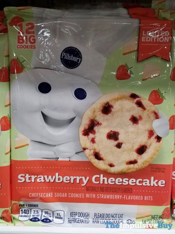Pillsbury Limited Edition Strawberry Cheesecake Sugar Cookies