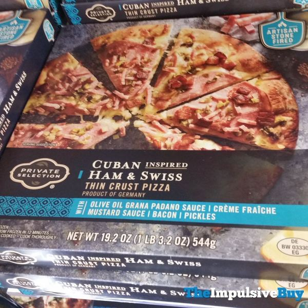Private Selection Cuban Inspired Ham  Swiss Thin Crust Pizza