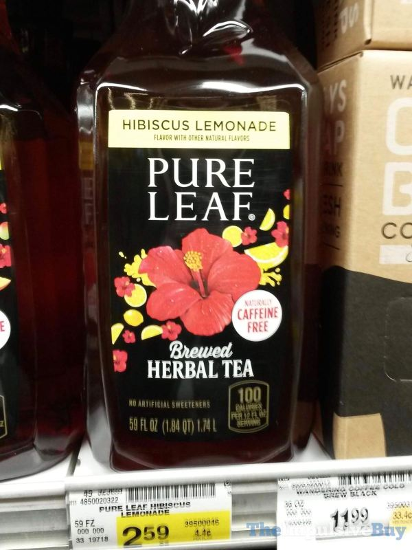 Pure Leaf Hibiscus Lemonade Brewed Herbal Tea