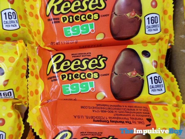 Reese s Stuffed with Pieces Egg
