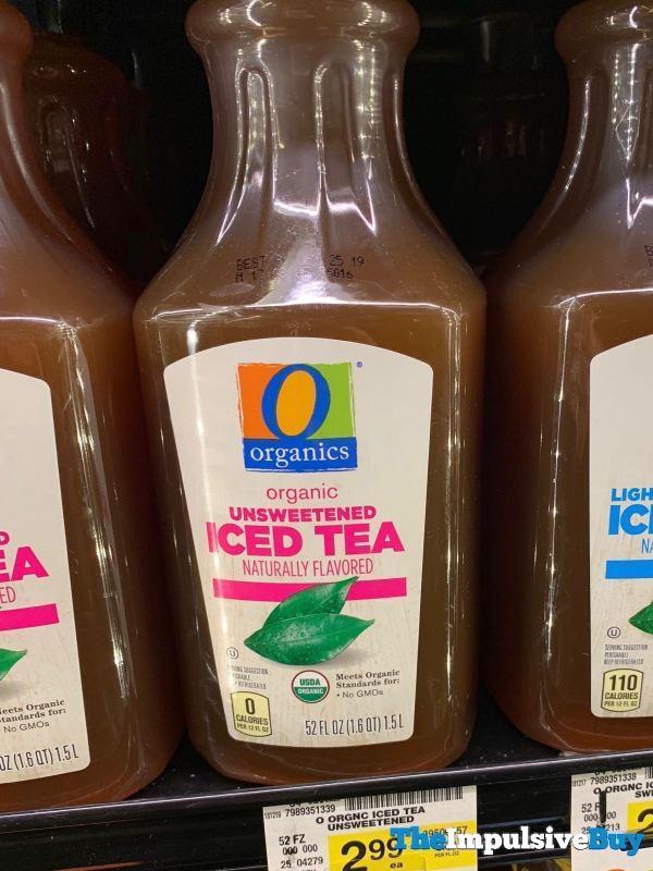 Safeway Organics Unsweetened Iced Tea