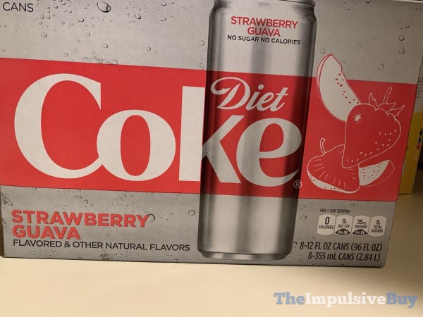 Strawberry Guava Diet Coke