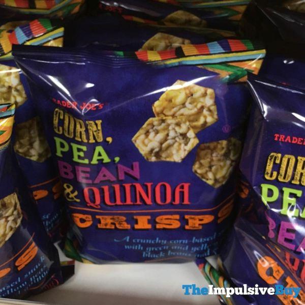 Trader Joe s Corn Pea Bean  Quinoa Crisps