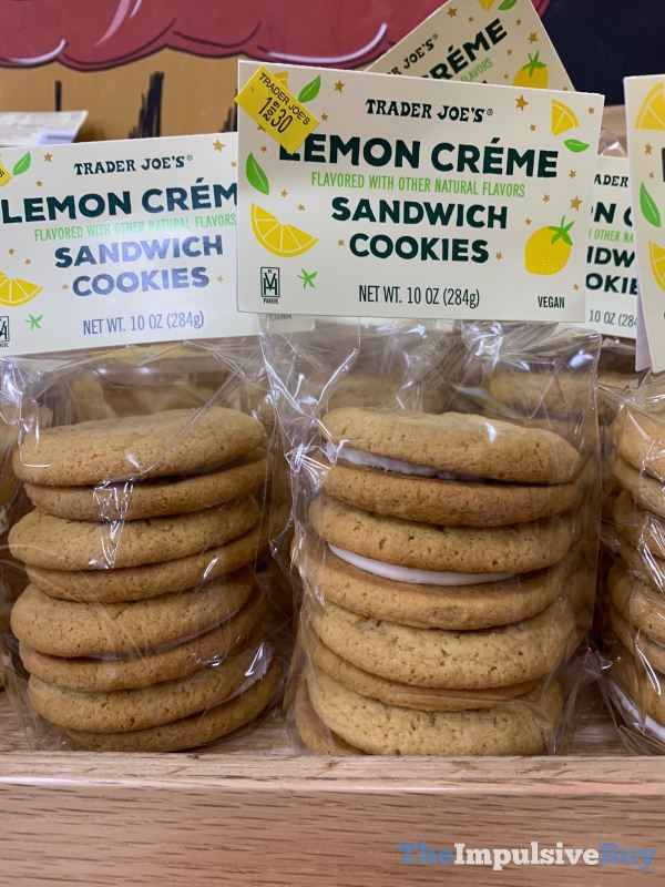 Trader Joe s Lemon Creme Sandwich Cookies