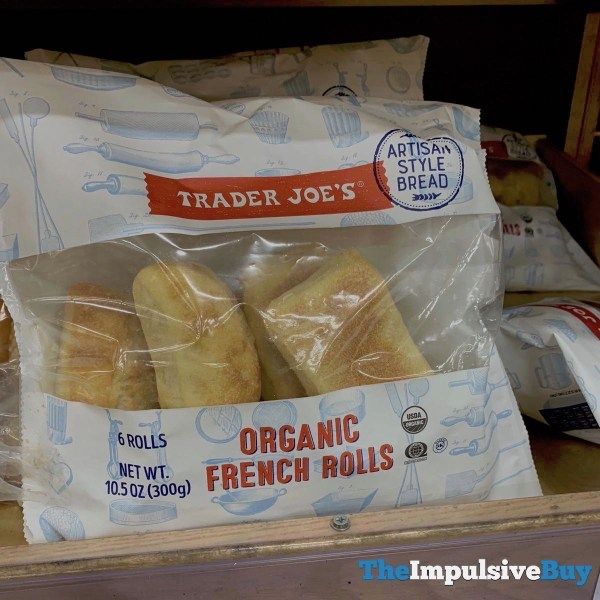 Trader Joe s Organic French Rolls