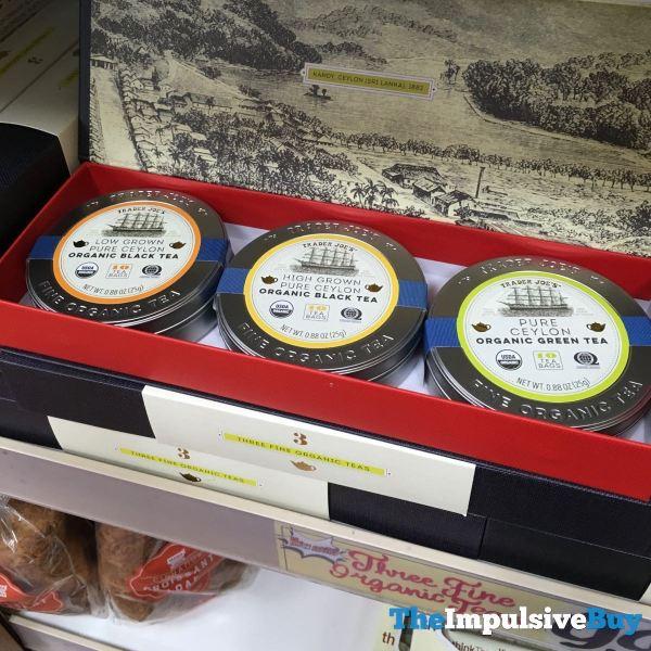 Trader Joe s Pure Ceylon Organic Black Teas
