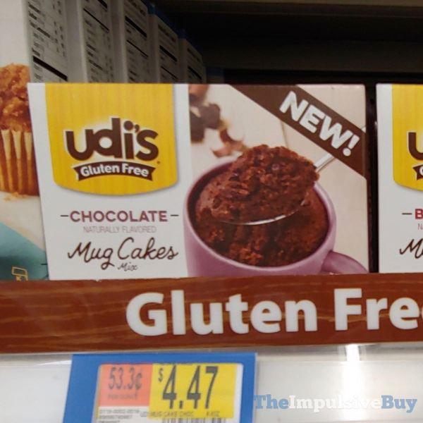 Udi s Gluten Free Chocolate Mug Cakes
