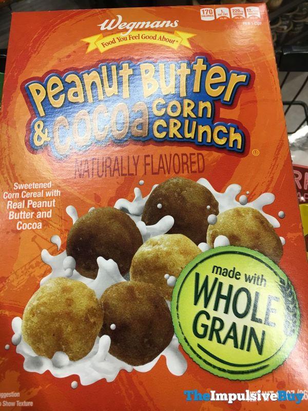 Wegmans Peanut Butter  Cocoa Corn Crunch