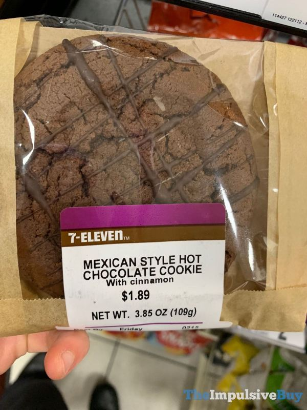 7 Eleven Mexican Style Hot Chocolate Cookie