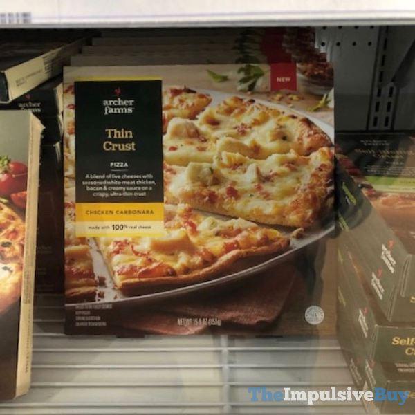 Archer Farms Chicken Carbonara Thin Crust Pizza
