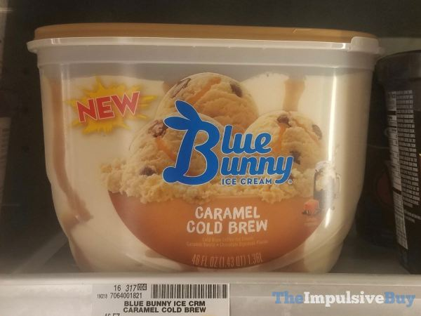 Blue Bunny Caramel Cold Brew Ice Cream