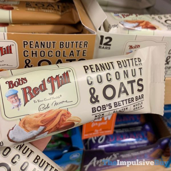 Bob s Red Mill Peanut Butter Coconut  Oats Bob s Better Bar