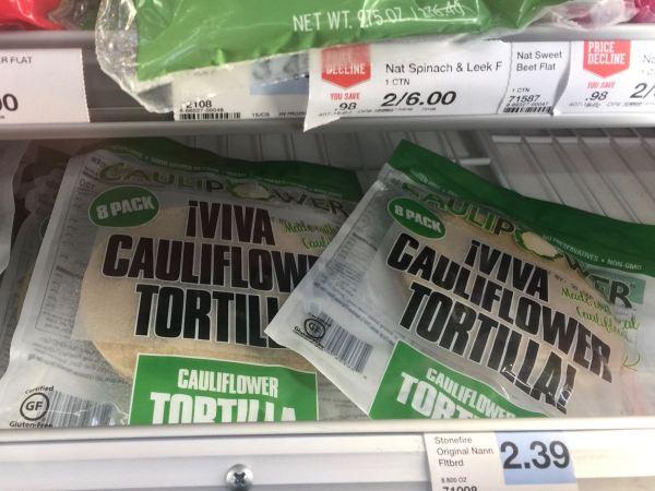 Caulipower Cauliflower Tortillas