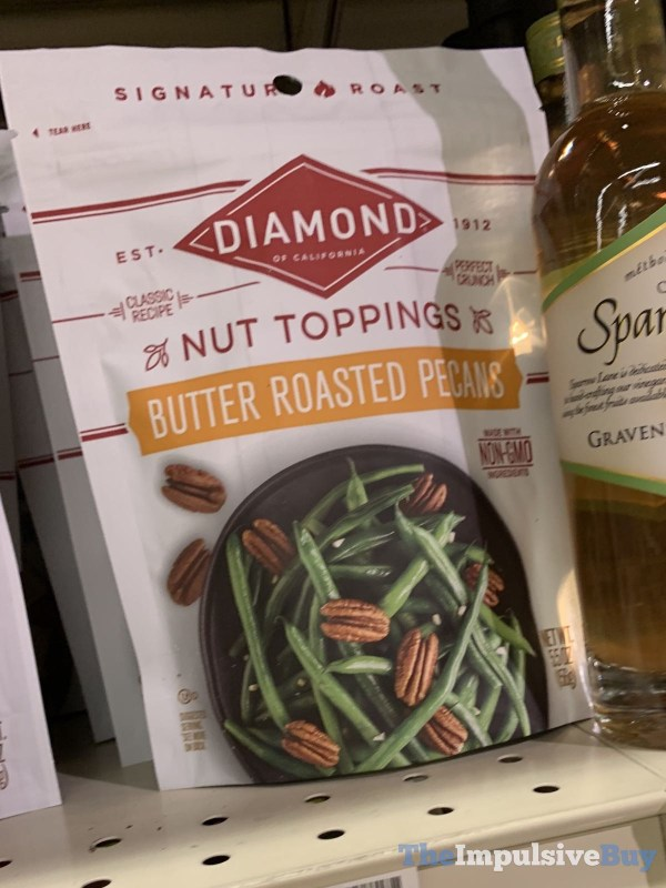 Diamond Nut Toppings Butter Roasted Pecans