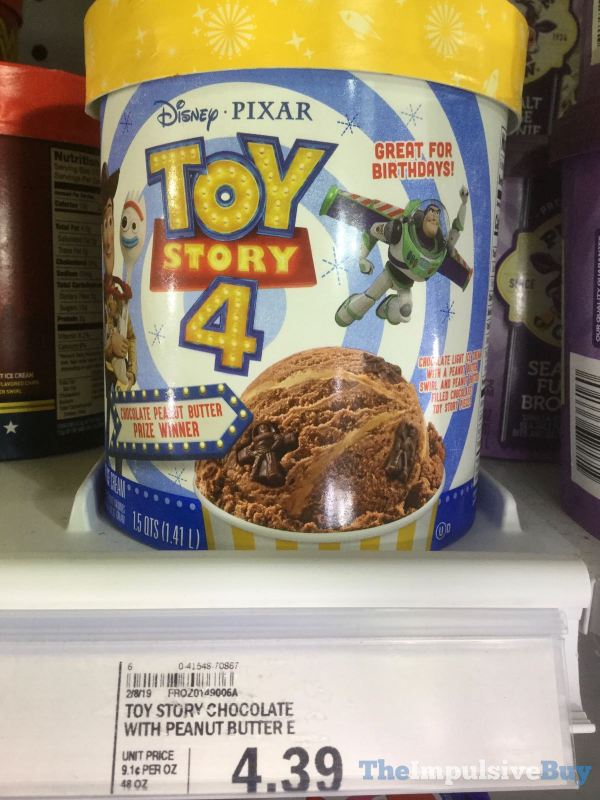 Disney Pixar Toy Story 4 Chocolate Peanut Butter Prize Winner