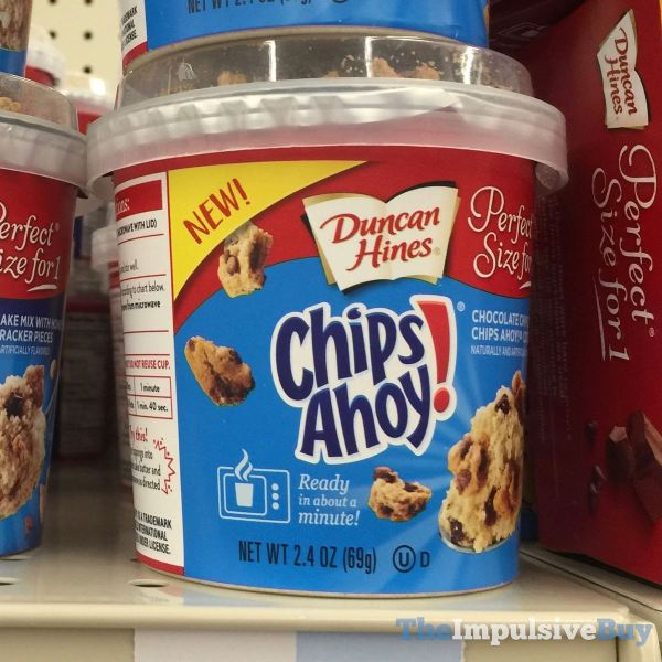 Duncan Hines Perfect Size for 1 Chips Ahoy Chocolate Chip Cake Mix