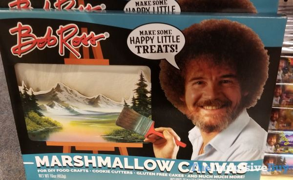 FYE Bob Ross Marshmallow Canvas