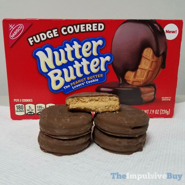 Fudge Covered Nutter Butter Cookies